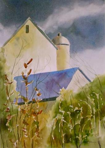 North Wind Shall Blow - print by Ed Fenendael
