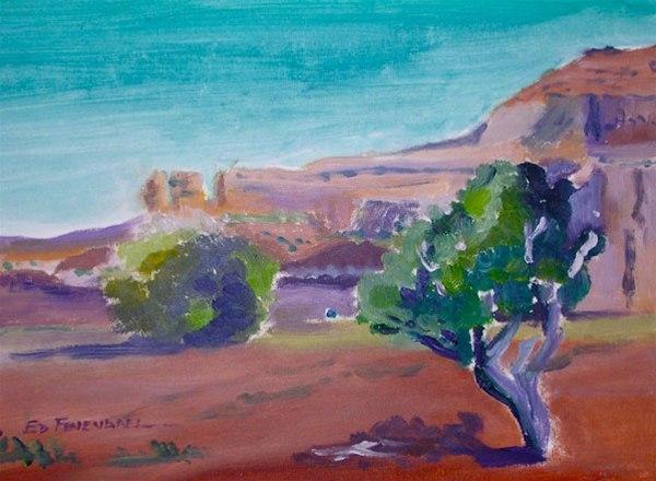 Solitutde - oil painting by Ed Fenendael