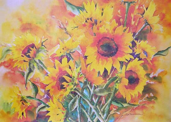 Summer's Glory - print by Ed Fenendael