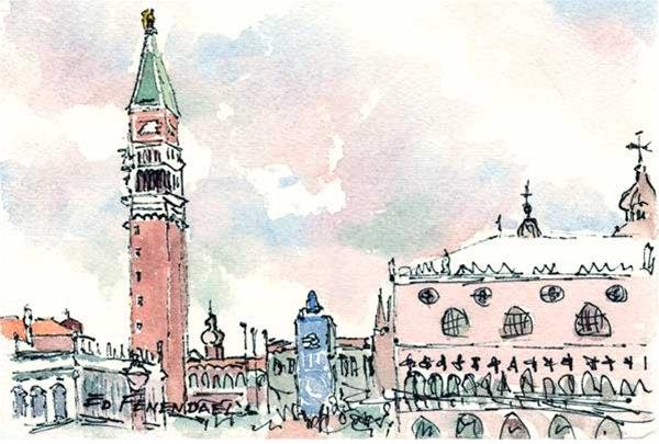 Venice - print by Ed Fenendael