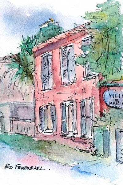 Villas de Marin - St. Augustine, FL - print by Ed Fenendael