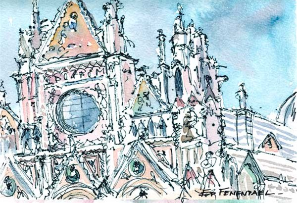 Duomo, Sienna - Print