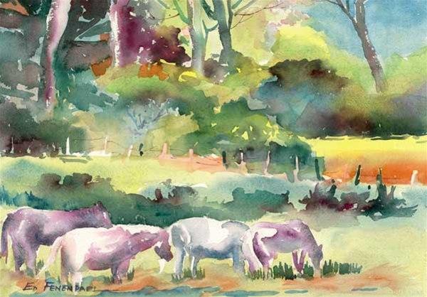 Horses of Abiquiu - Print