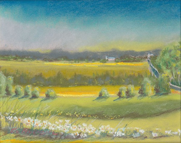 The Valley at Windmill Farm - Print
